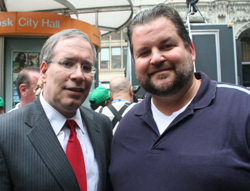 Manhattan BP and Local 100 President