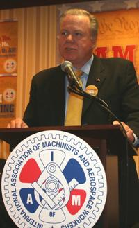 Central Labor Council President Jack Ahern