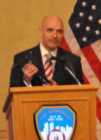 Salvatore J. Cassano, Fire Commissioner