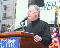 NYS AFL-CIO President Denis Hughes