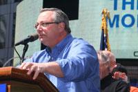 Local 338 RWDSU/UFCW President John Durso