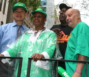 Lillian Roberts, Executive Director of District Council 37 and NYS Comptroller John Liu