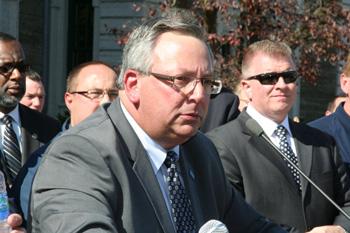 John Durso, President of RWDSU/UFCW Local 338