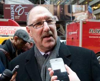 Michael Fishman President of 32BJ SEIU