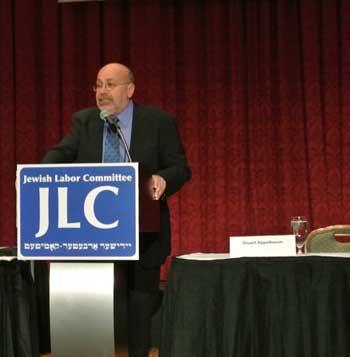 Stuart Appelbaum of RWDSU and JLC