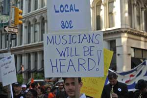 Local 802 jazzes on May Day