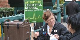 Nurses and Lenox Hill Continue Talks As Deadline Approaches