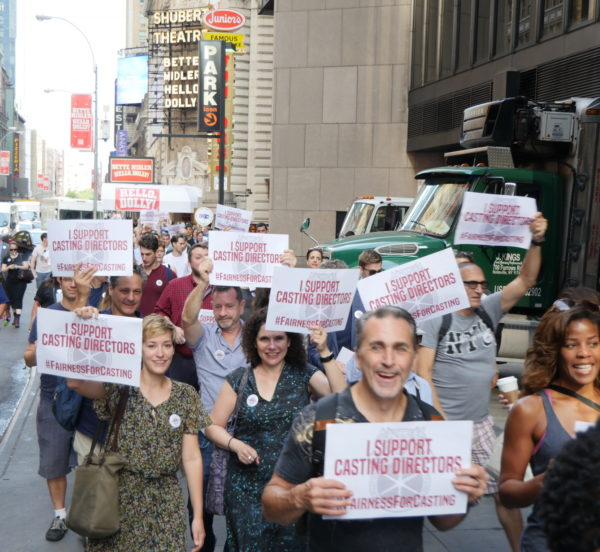 Casting Directors Challenge B'way League to Begin Bargaining!