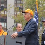 Mayor, Trumka Turn Out for Spectrum Strikers
