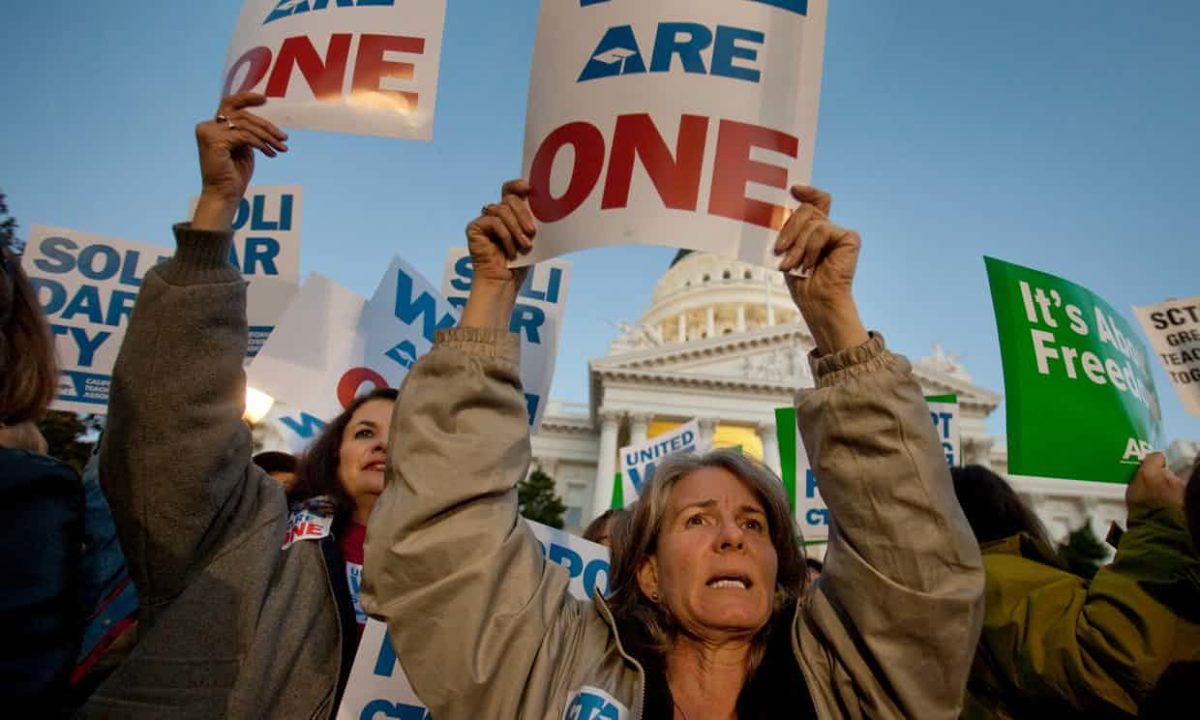 Far-Right Network Plans 'Mortal Blow' Against Public-Sector Unions