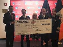 Firefighter Pays it Forward With Huge Donation to 9/11 Survivors