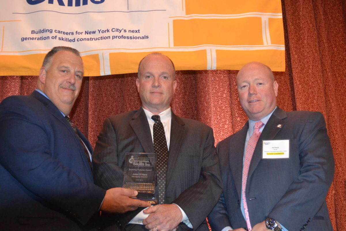 Construction Skills Honors Three in 8th Annual Awards
