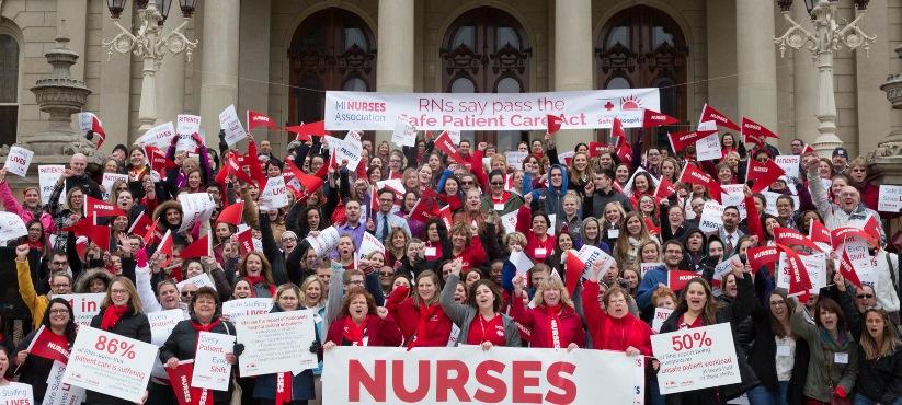 Michigan Nurses Charge Unfair Labor Practices