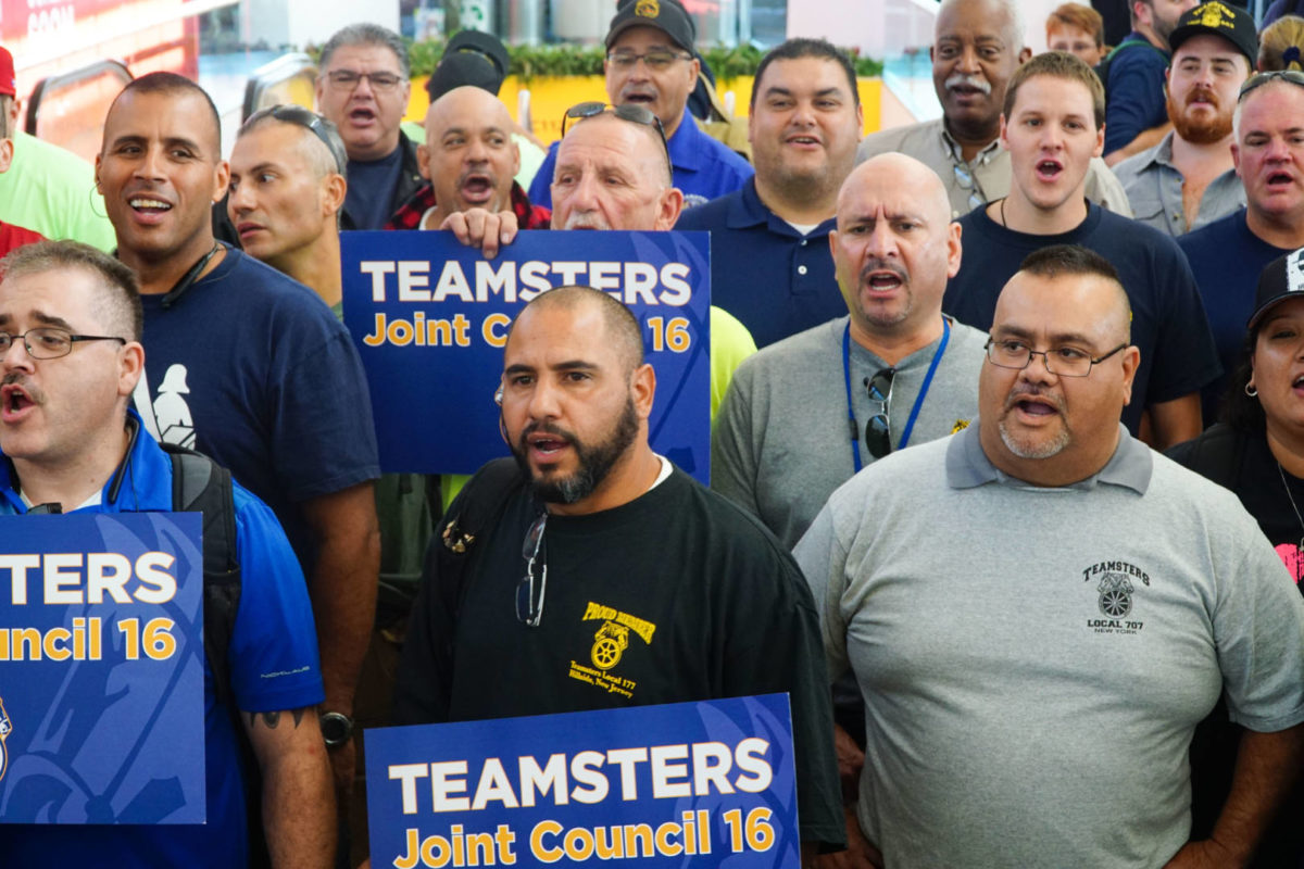 On the Ground In Puerto Rico With the Teamsters and other Union Volunteers