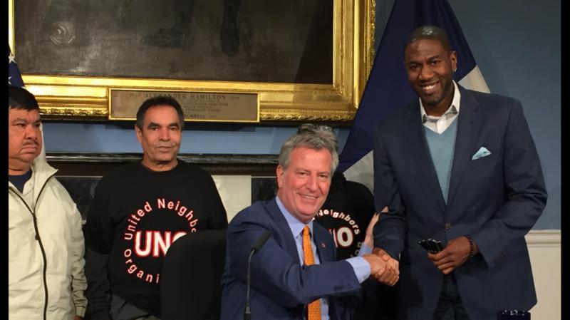 Mayor Signs Rent Regulation Enforcement