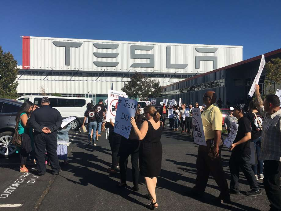 UAW Accuses Tesla of Firing Union Supporters