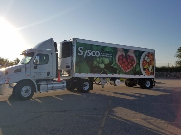 Teamster Drivers Strike at Sysco Center in Kansas
