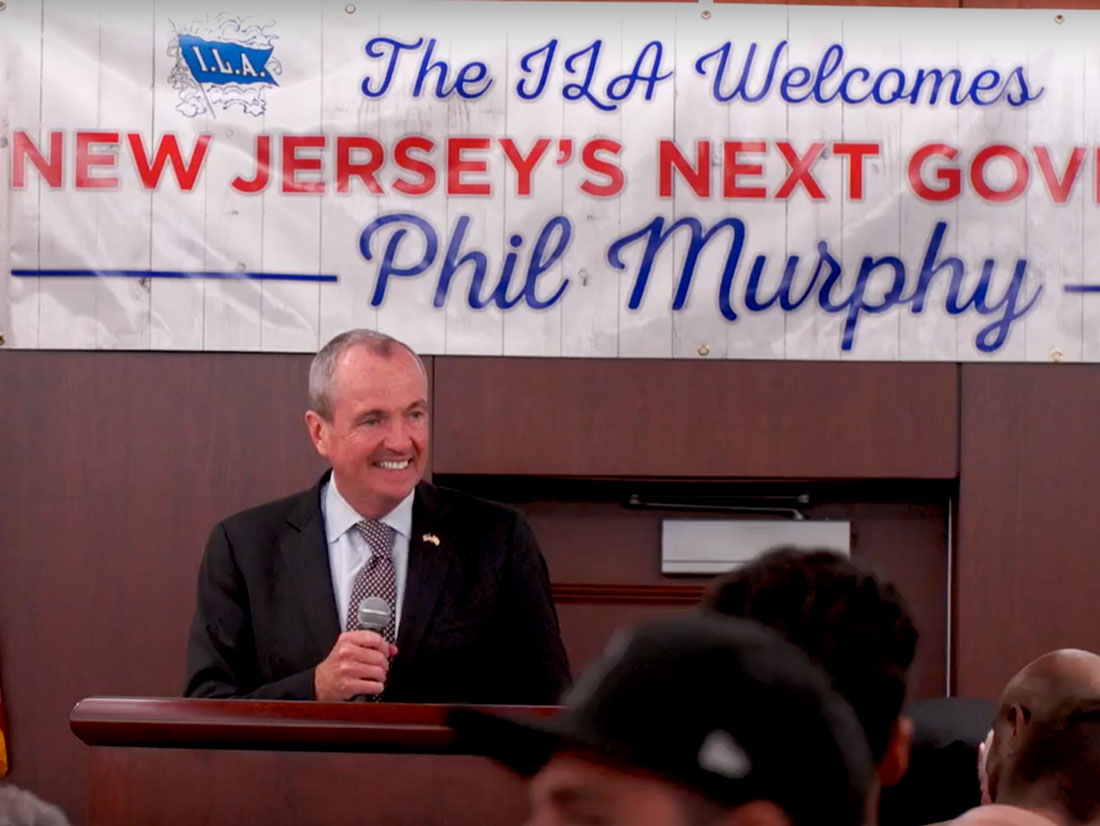 Hoffa and Teamsters Support Murphy for NJ Governor