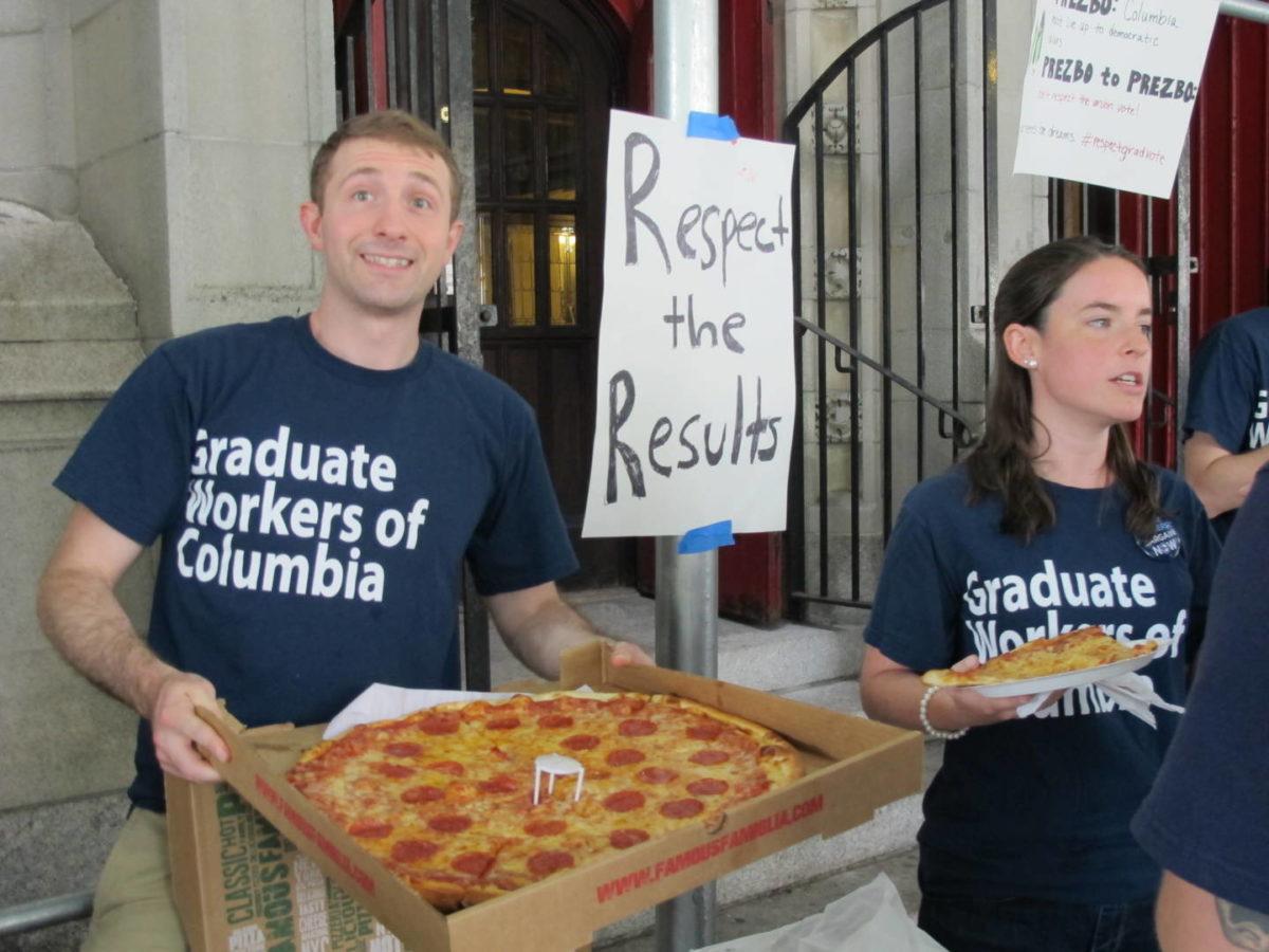 NLRB Certifies Columbia Graduate-Worker Union