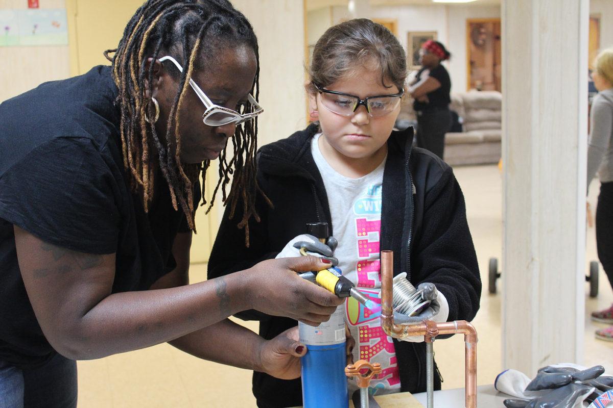 Tools and Tiaras: Teaching Girls Construction Basics