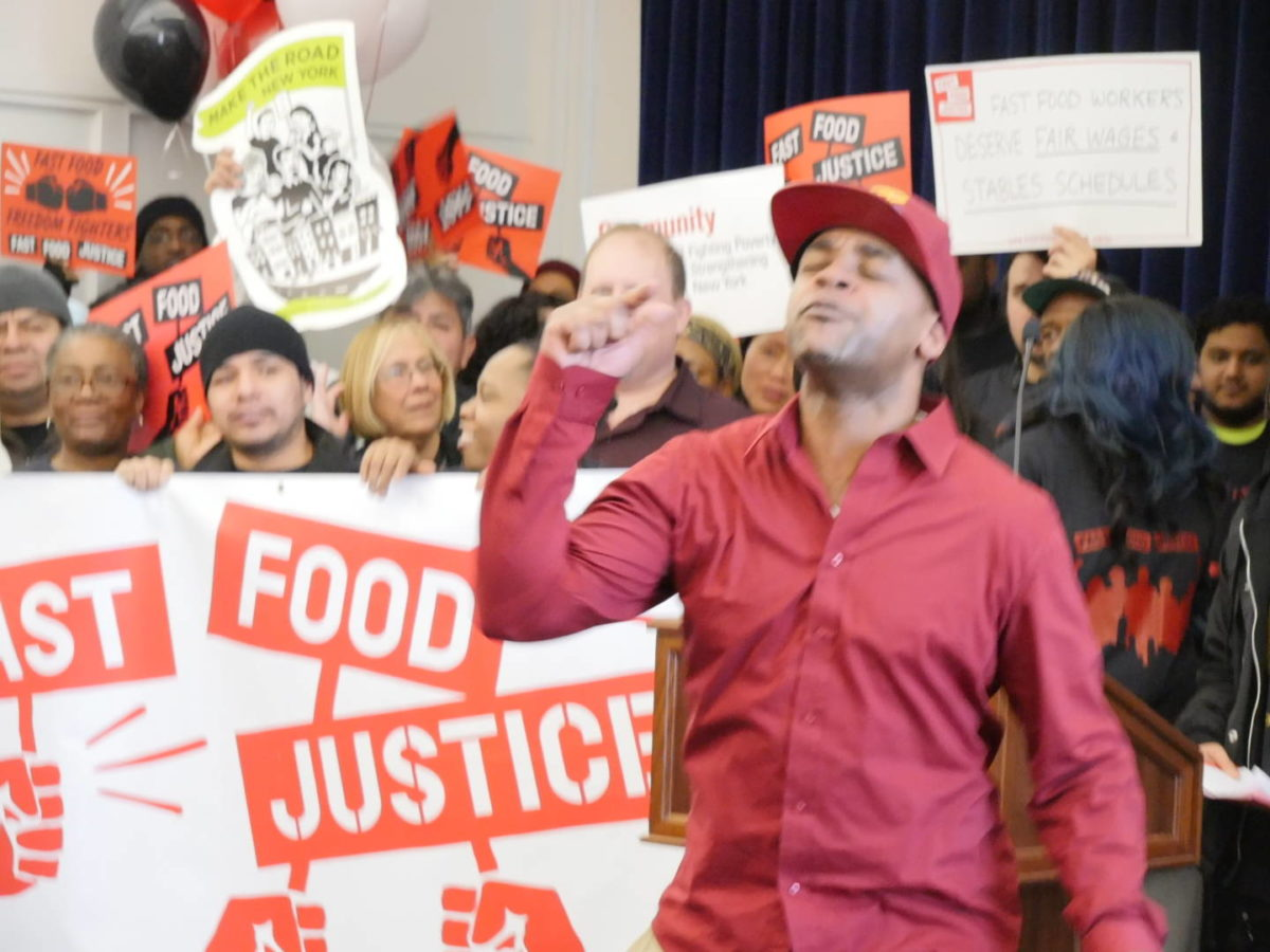 NYC Fast Food Workers Notch Another Win!