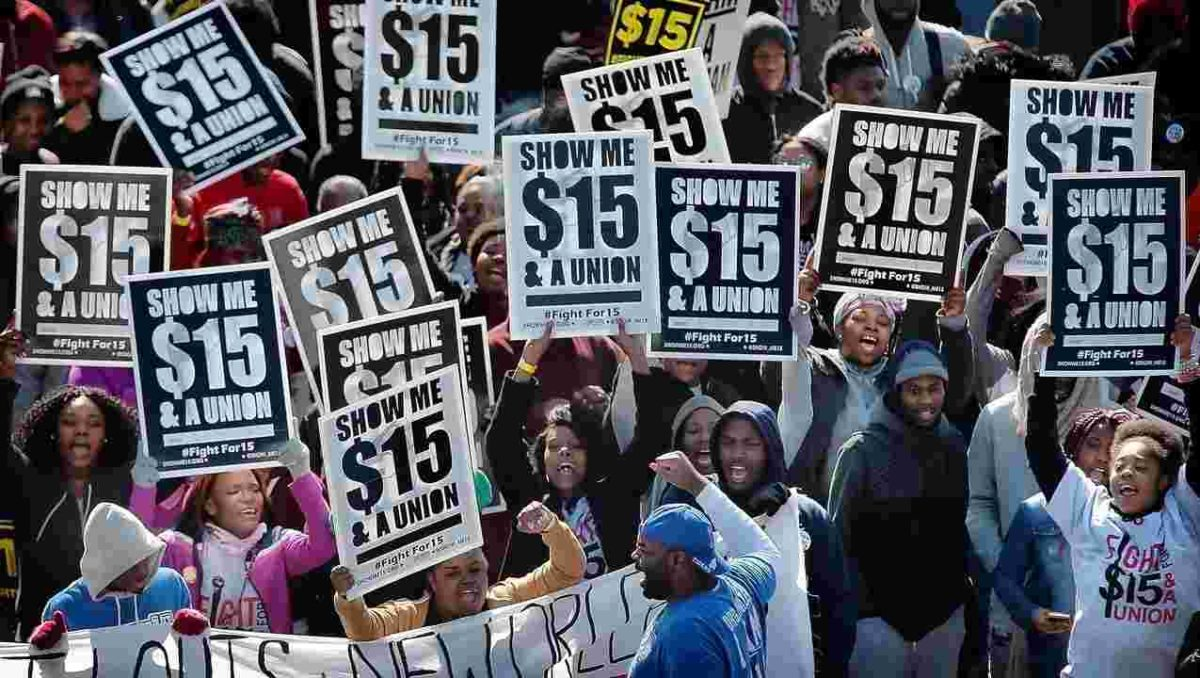 'Fight for $15' Rally Marks 50th Anniversary of Memphis Garbage Strike