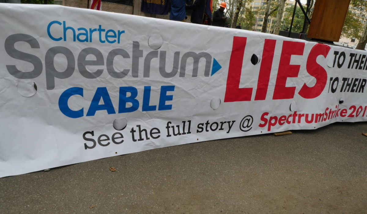 Court's Refusal to Toss Charter/Spectrum Lawsuit Bolsters Striking Workers' Claims of Abuse