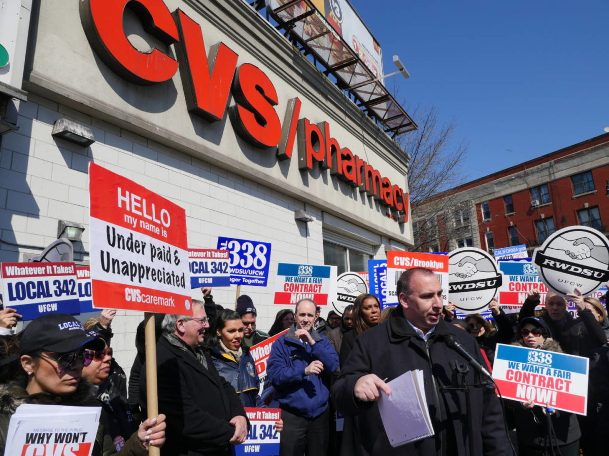 Unionized Workers In Brooklyn Call 'BS' On CVS