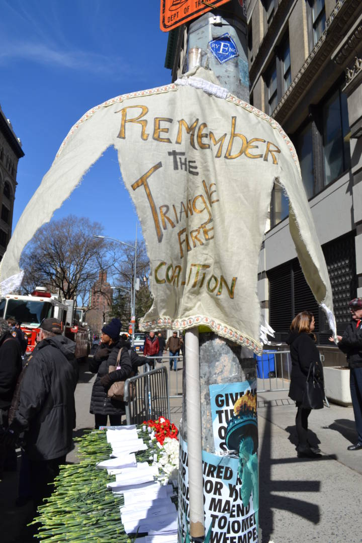 Triangle Shirtwaist Factory Fire is Remembered in Lower Manhattan