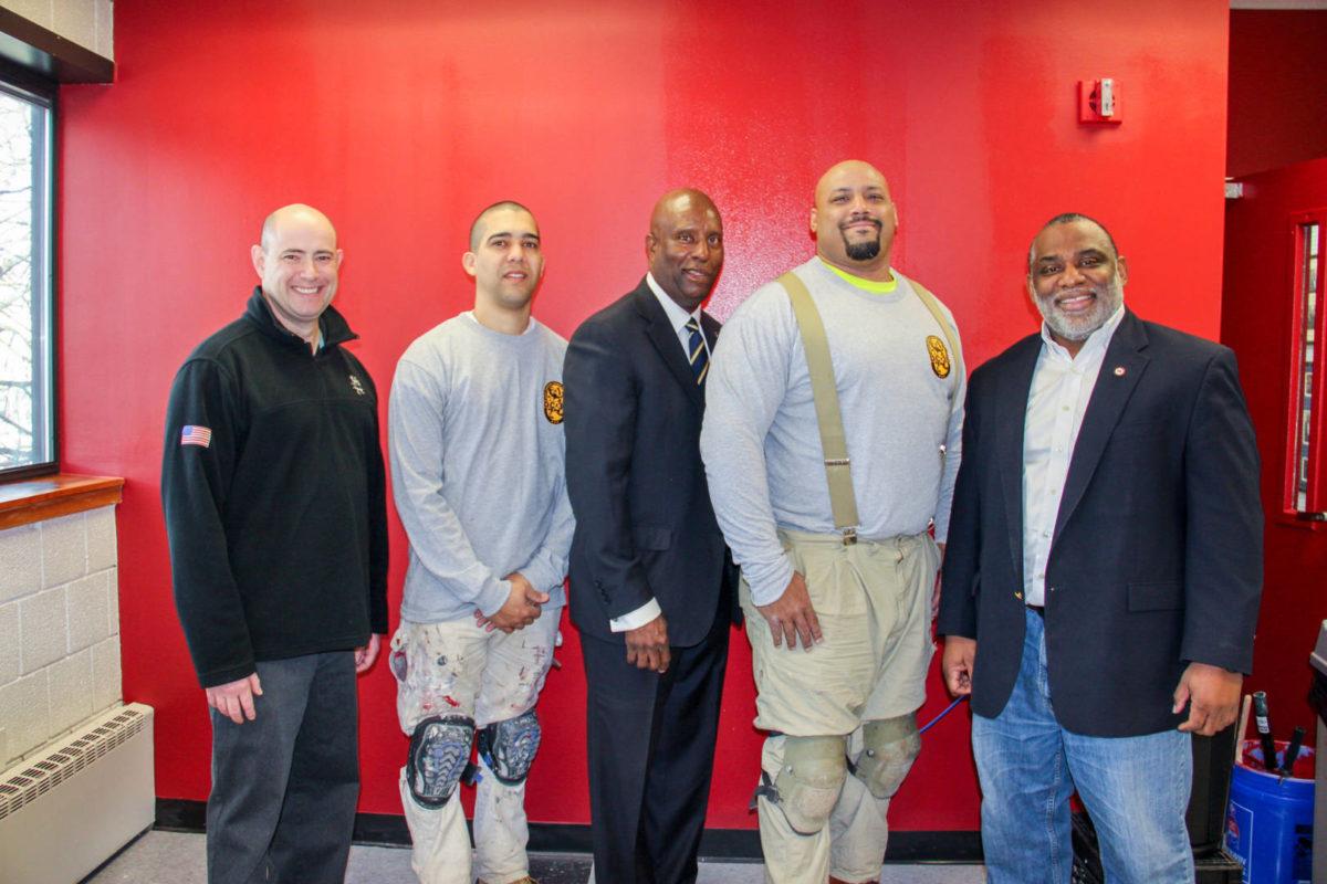 Painters Union Revitalize Urban League Facility