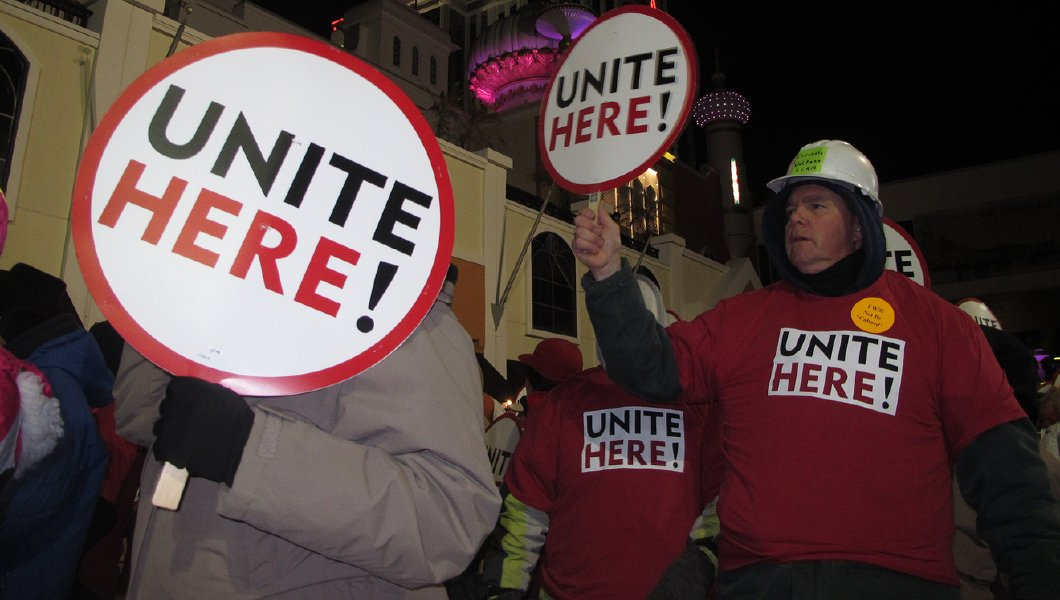 Foxwoods Workers Move to Join UNITE HERE