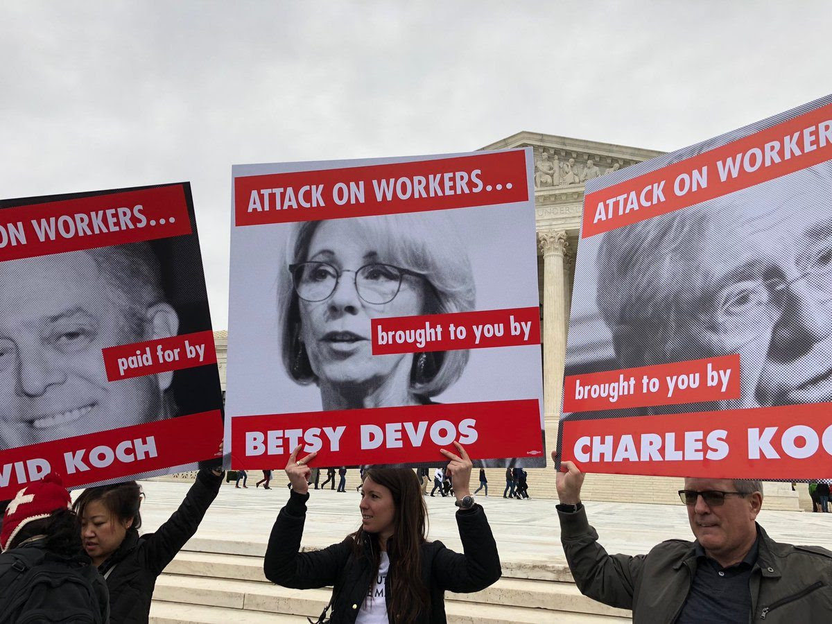 Secretary DeVos' Continues Attack on Unions