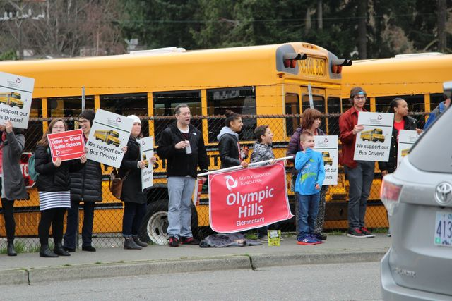 California School Bus Drivers Join Teamsters
