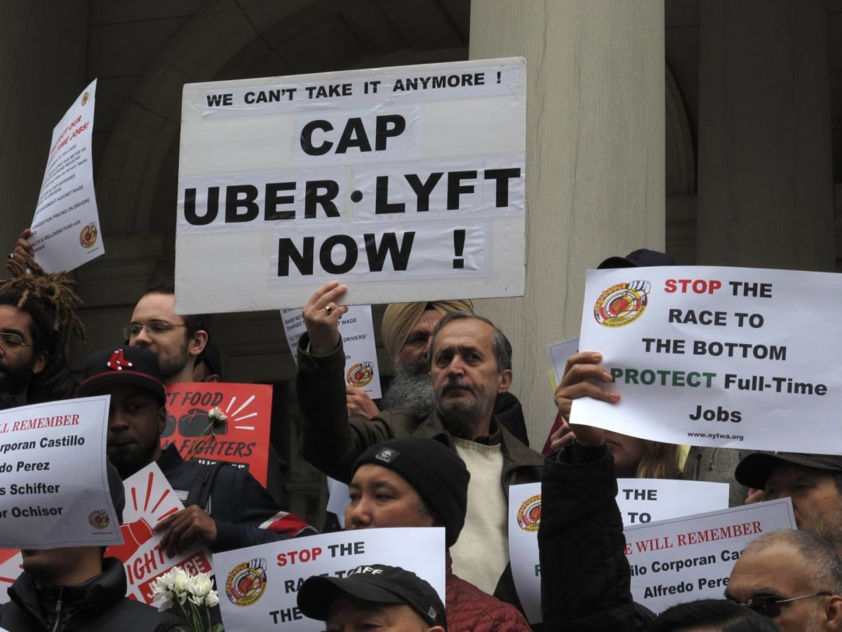 Angry Taxi Drivers Mourn the Dead — And Organize