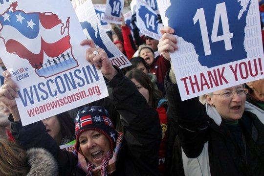 Wisconsin IUOE Locals Sue Walker for Free-Speech Violations