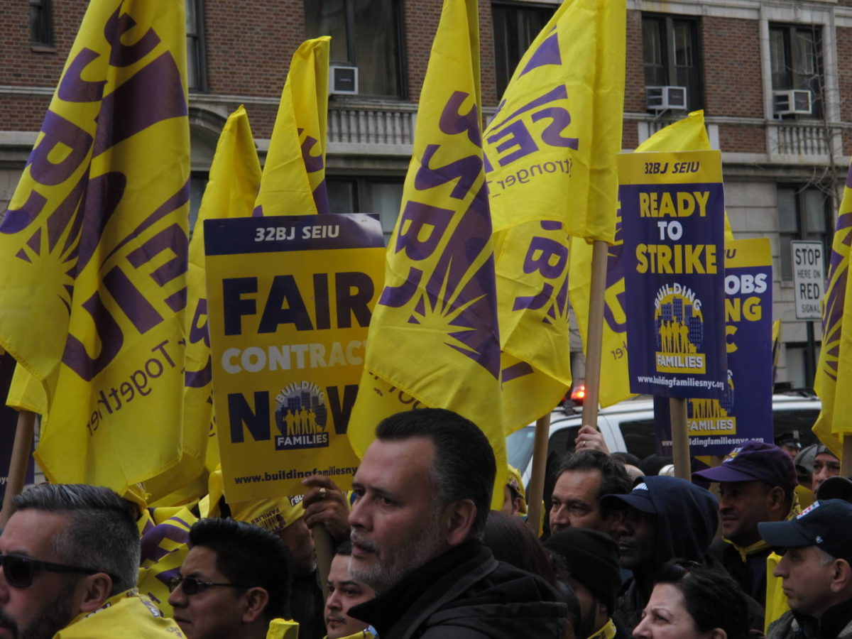Building-Service Workers Authorizes April 21 Strike In NYC