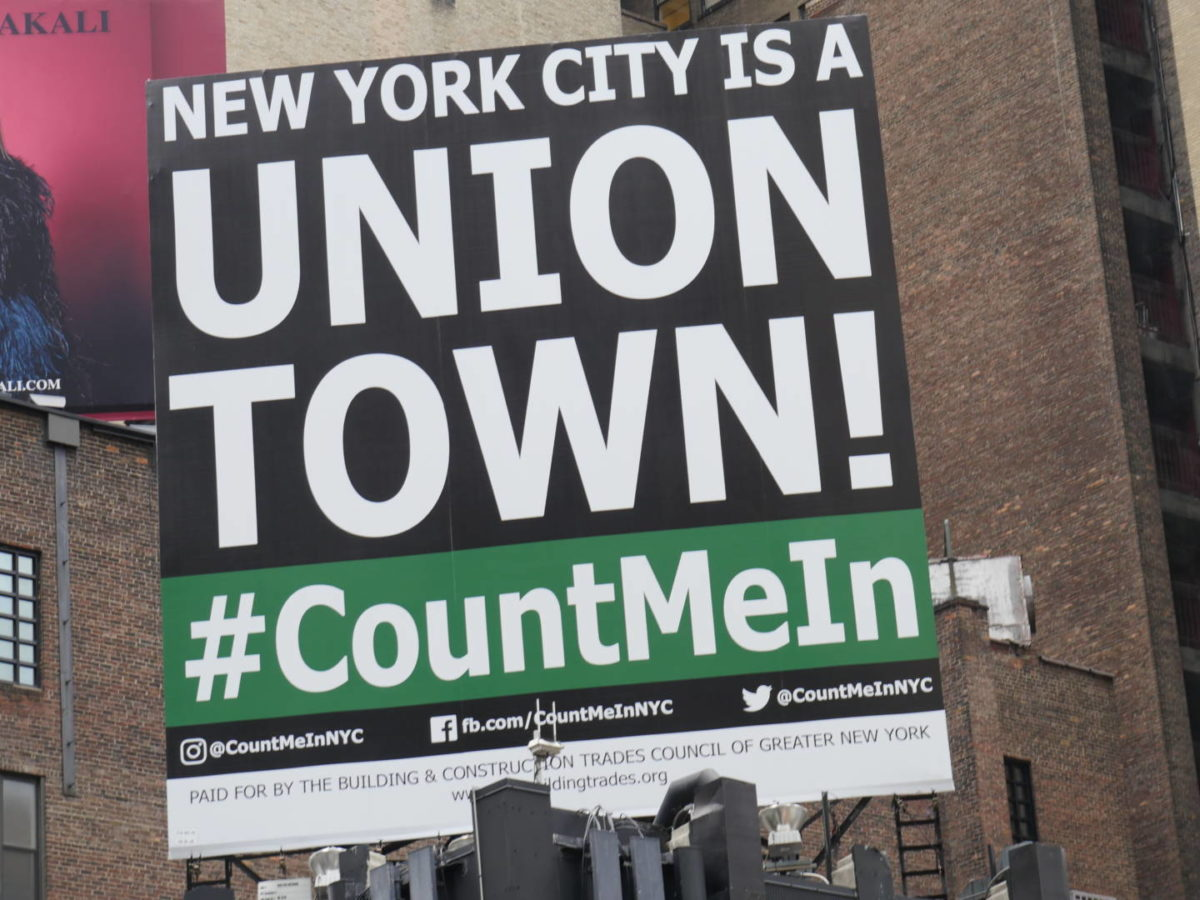 Blue Collar Corner: #CountMeIn Solidarity