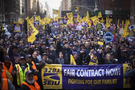 32BJ Building Workers Reach Tentative Contract Deal
