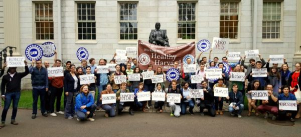Harvard Teacher Assistants Join UAW