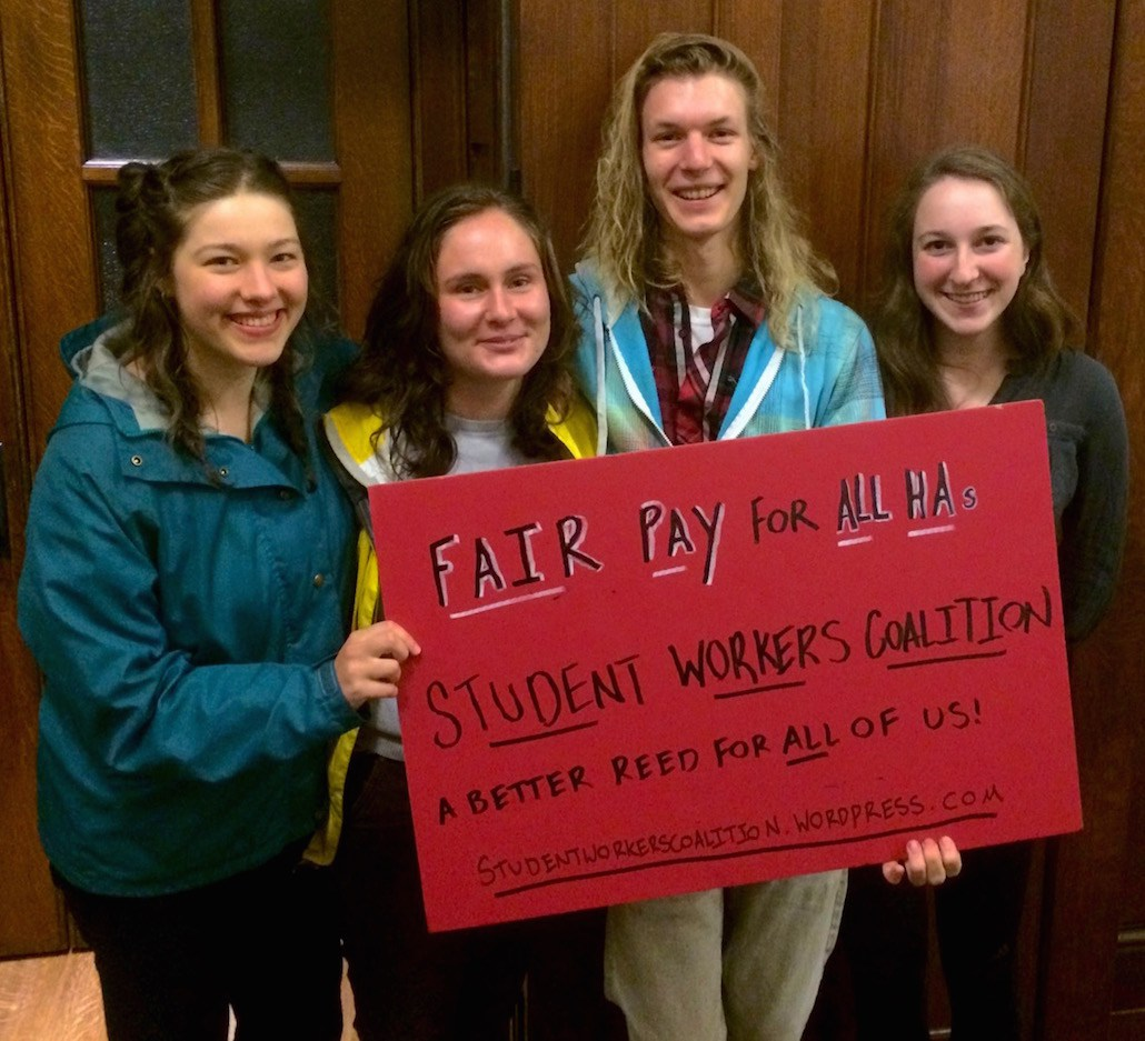 America's Youngest Union? Reed College Dorm Advisers Organize