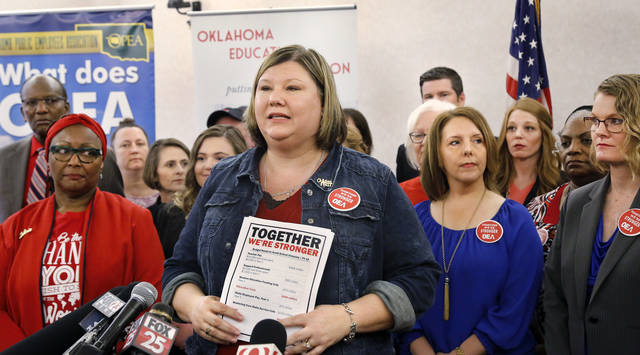 Oklahoma Teachers Propose $900M Revenue Package