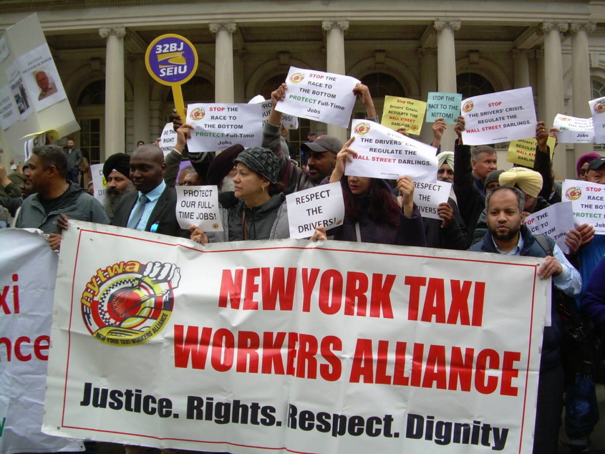 Taxi Drivers Rally Behind New Legislation Regulating App-Based Services