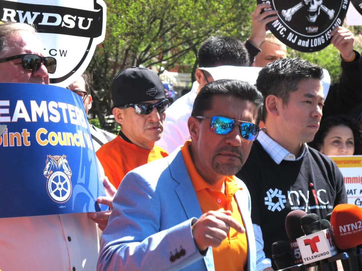 May Day Workers Rally Against The Assault On Labor