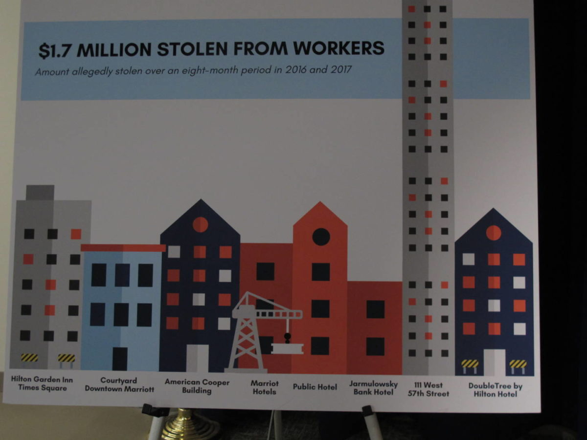 Ultra-Posh Buildings Built On A Foundation Of Stolen Wages!