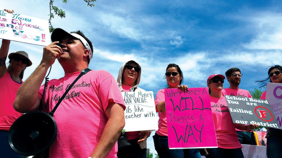 Colorado City Teachers Say They'll Strike 'As Long as It Takes'