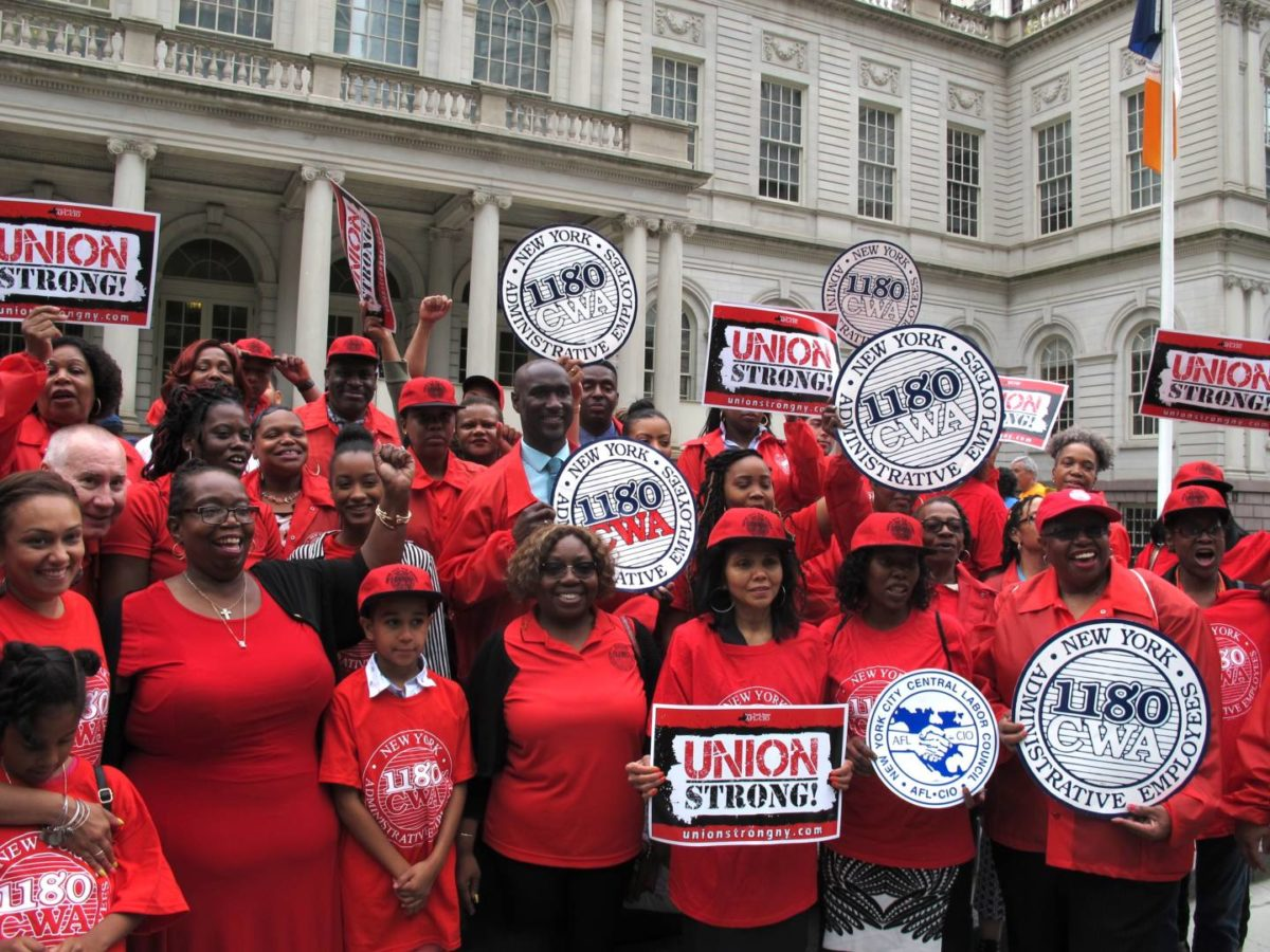 NYC's Public Unions Stand Firm In The Face Of Janus