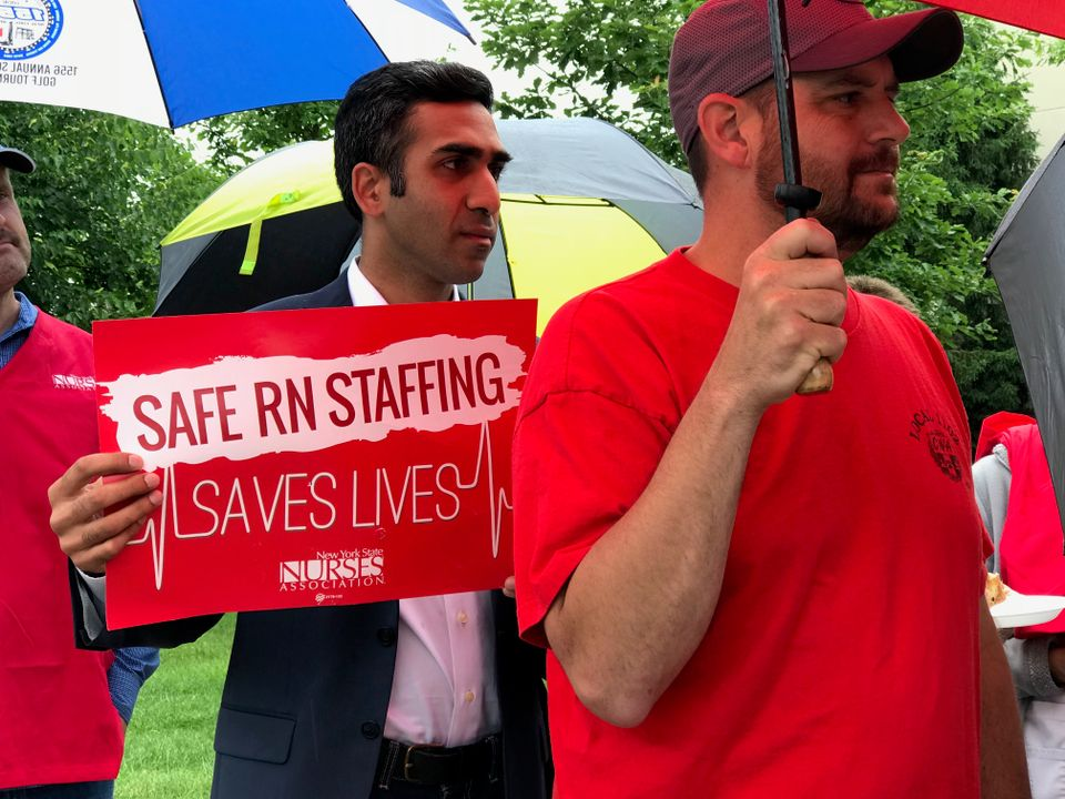 Staten Island Nurses Rally for Safer Staffing