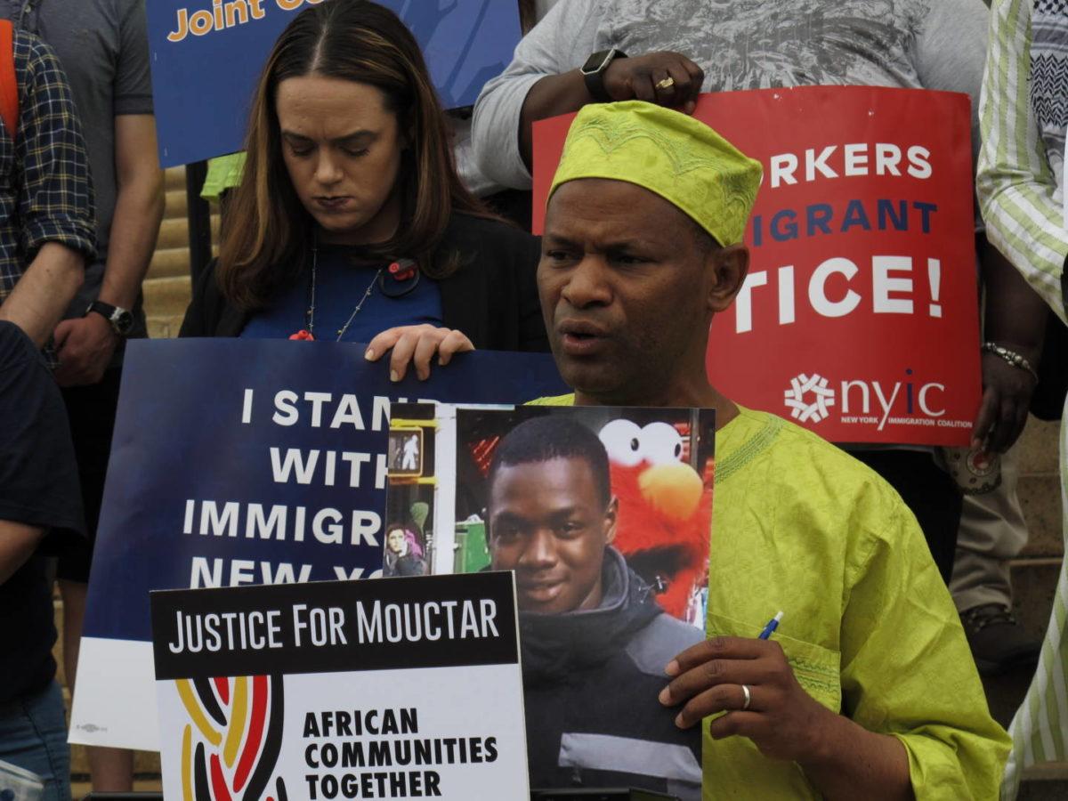 Afro-Teamster Coalition Demands Justice For Dead Sanitation Worker