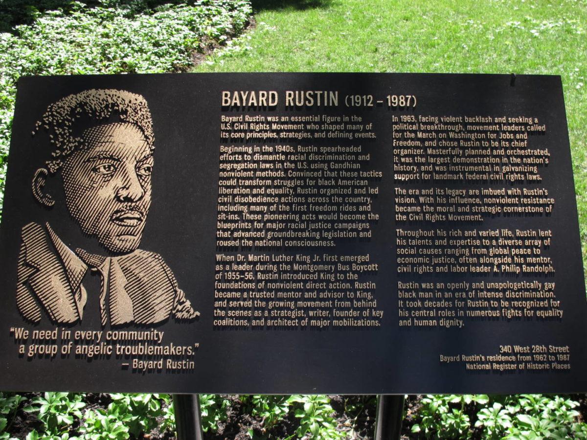 Penn South Honors Bayard Rustin