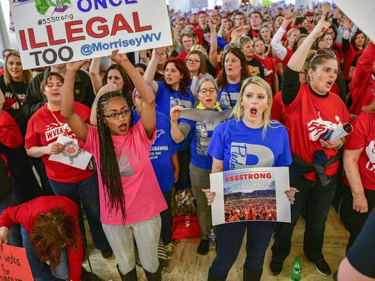 West Virginia Teachers Strike Kills Anti-Union Bill